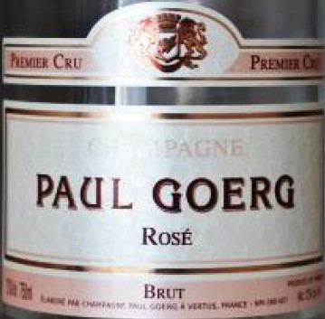 Vin No5 Champagne rose Paul Goerg 1er Cru