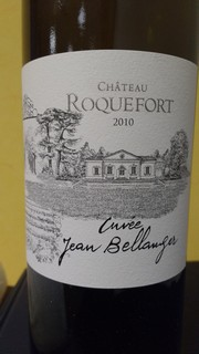 Chateau Roquefort Cuvee Bellanger blanc 2010 small